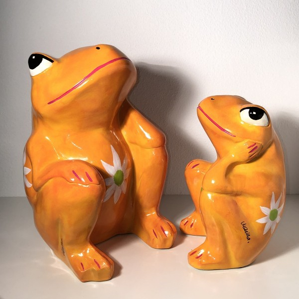 Frosch orange