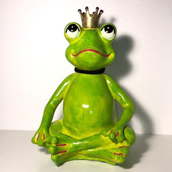 Yogafrosch grün Yogi