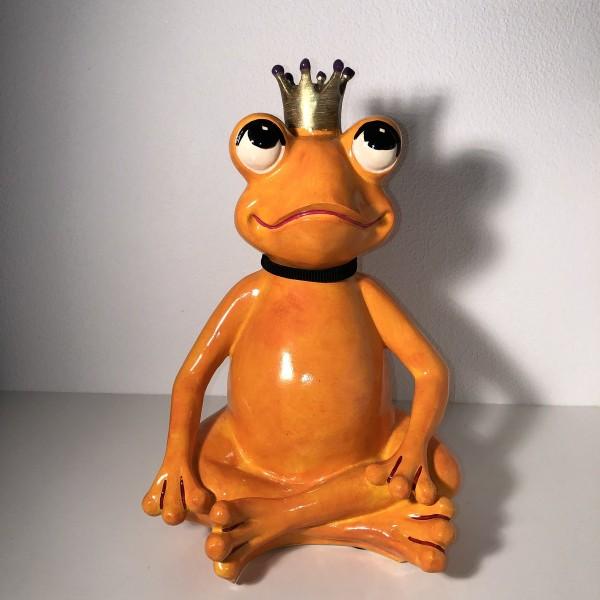 Yogafrosch orange Friedrich