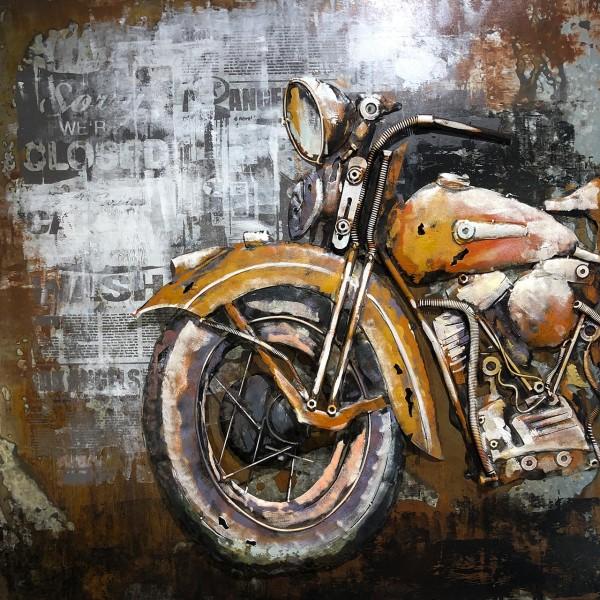 Bild 3D-Art Motorcycle